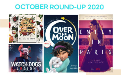 October 2020: Top Books, Movies, TV Series and Games