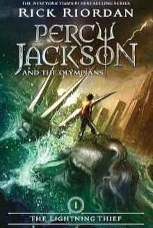 percy jackson fantasy book covers