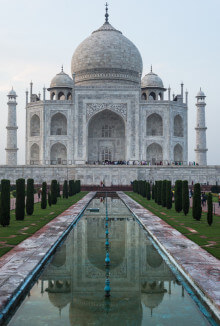 taj mahal india bucket list for travel