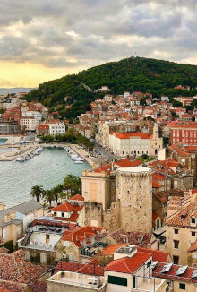 dalmatian coast croatia travel bucket list