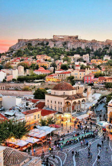 athens cities in europe