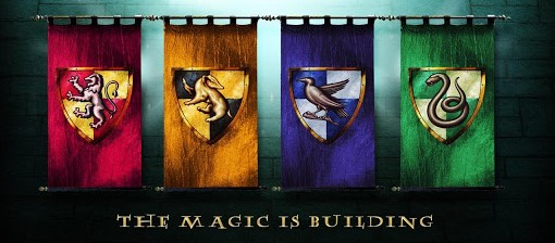 book recommendations - hogwarts houses