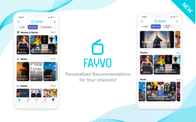 Discover & Enjoy Personalized Feed with the NEW 'For You' – Fayvo Updates